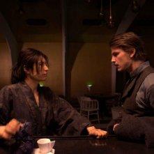 Gackt e Josh Hartnett  in una scena del film Bunraku