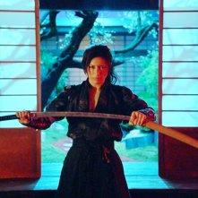 Gackt in una scena del film Bunraku
