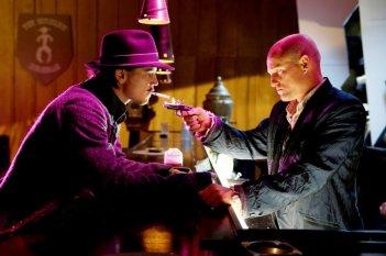 Josh Hartnett e Woody Harrelson in una scena del film Bunraku