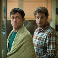 Seth Rogen e Joseph Gordon-Levitt in 50/50