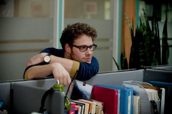 Seth Rogen in una scena di 50/50