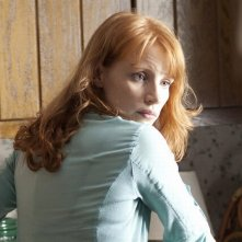 Take Shelter: la bellissima Jessica Chastain in una scena del film