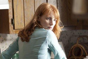 Take Shelter: la bellissima Jessica Chastain in una scena del film