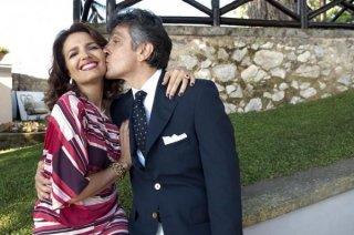 Ex: Amici come prima: Vincenzo Salemme Tosca D'Aquino in una scena