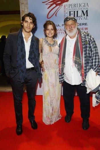 Bruce Weber al Perugia Film Festival con Giulia Elettra Gorietti e Giuseppe Maggio.