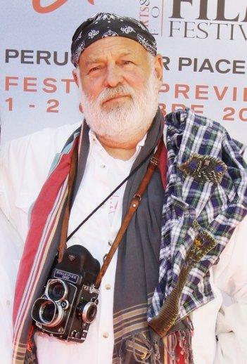Bruce Weber allla preview del Perugia Film Festival, nell'ottobre 2011