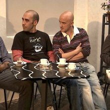 Cara, ti amo...: Luciano Scarpa con Alessandro Procoli, Angelo Orlando e Massimiliano Franciosa in una scena del film