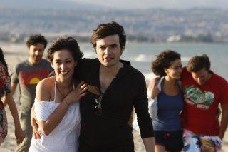 Diane Fleri e Paolo Briguglia in una scena de L'amore fa male