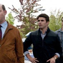 Final Destination 5: David Koechner, Miles Fisher e Nicholas D'Agosto in una scena del film