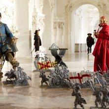 I tre moschettieri in 3D: Christoph Waltz e Orlando Bloom nei panni del Cardinale Richelieu e del Duca di Buckingham