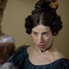 Jane Eyre: Sally Hawkins in una scena del film nei panni di Mrs. Reed