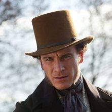 Michael Fassbender è Edward Rochester in Jane Eyre
