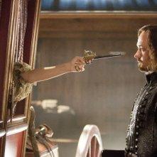Milla Jovovich e Matthew Macfadyen sono Milady e Athos ne I tre moschettieri in 3D