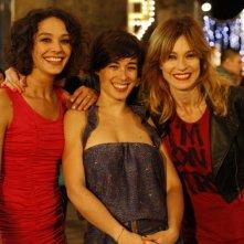 L'amore fa male: Nicole Grimaudo, Diane Fleri e Stefania Rocca in un'immagine promozionale