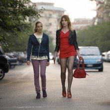 Stefania Rocca in L'amore fa male con Anna Luisa Capasa