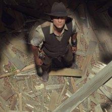 Cowboys & Aliens: Daniel Craig in una suggestiva inquadratura tratta dal film