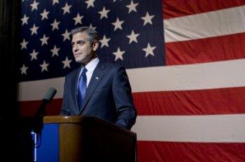 George Clooney in una scena di Le idi di marzo
