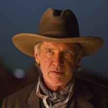 Harrison Ford è il Colonnello Woodrow Dolarhyde in Cowboys & Aliens