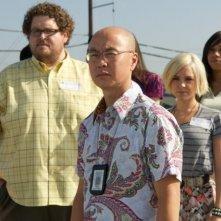 Al centro, C.S. Lee in Those Kinds of Things, première della sesta stagione di Dexter