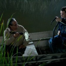 Edward James Olmos e Colin Hanks nell'episodio Those Kinds of Things della sesta stagione di Dexter