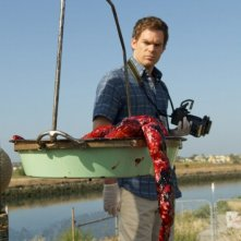 Michael C. Hall è Dexter nell'episodio di apertura della sesta stagione, Those Kinds of Things