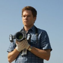 Michael C. Hall nell'episodio di apertura della sesta stagione di Dexter