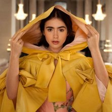 Lily Collins in The Brothers Grimm: Snow White: una immagine del film
