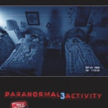 Paranormal Activity 3: la locandina italiana del film