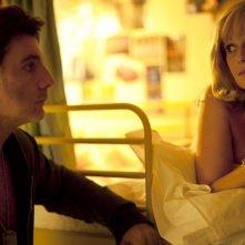 Philippe Lellouche ed Elisa Servier in Bienvenue à bord, una commedia francese del 2011