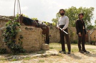 Vinicio Marchioni e Michele Alhaique fratelli in Cavalli