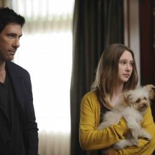 Dylan McDermott e Taissa Farmiga sono Ben e Violet Harmon in American Horror Story