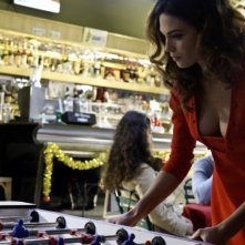 Aura Rolenzetti in una scena di Bar Sport di Massimo Martelli