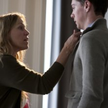 Frances McDormand e Seth Adkins in una scena di This Must Be the Place