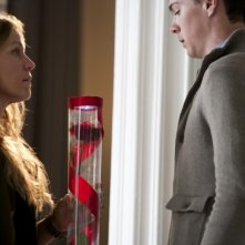 Frances McDormand in una scena del film This Must Be the Place insieme a Seth Adkins