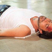 Marius Bizau a terra in una scena di Parking Lot 3D
