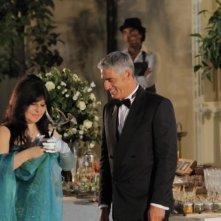 Matrimonio a Parigi: Anna Maria Barbera e Biagio Izzo in una scena del film