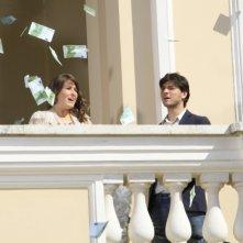 Matrimonio a Parigi: Diana Del Bufalo ed Emanuele Bosi in una scena del film