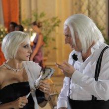 Matrimonio a Parigi: Paola Minaccioni e Massimo Ceccherini in una scena del film