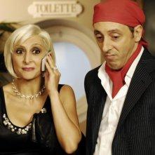 Matrimonio a Parigi: Paola Minaccioni insieme a Massimo Ceccherini in una scena della commedia diretta da Claudio Risi