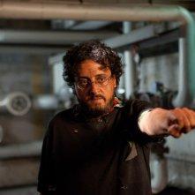 Parking Lot 3D: Massimo De Lorenzo in una scena del thriller diretto da Francesco Gasperoni