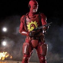 Super: Rainn Wilson nei panni di Crimson Bolt