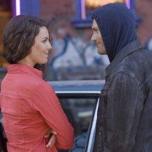 Katherine Heigl si confronta con Jason O'Mara in una scena di One for the Money