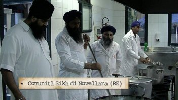 La comunità Sikh di Novellara (RE) protagonista della puntata l'Emilia Romagna incontra l'India