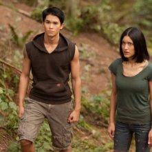 Booboo Stewart e Julia Jones in una scena di The Twilight Saga: Breaking Dawn - Parte I