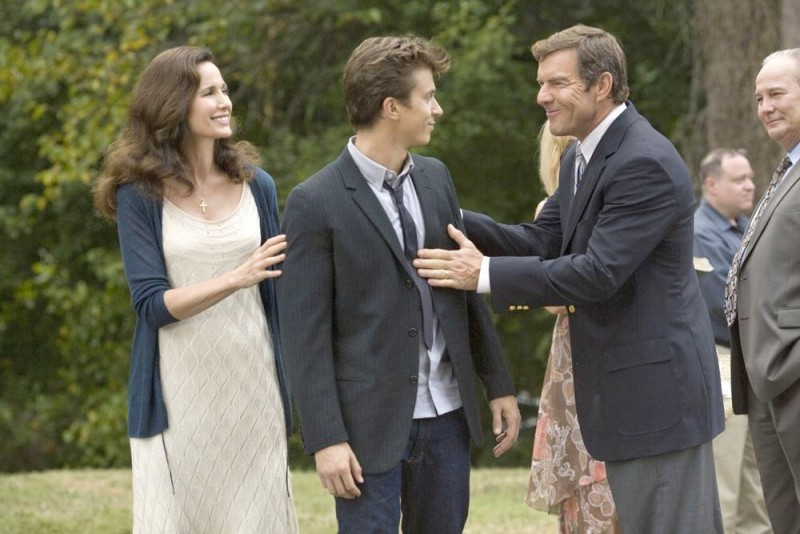 Dennis Quaid E Andie Macdowell In Footloose 2011 Con Kenny Wormald 217899