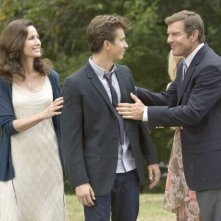 Dennis Quaid e Andie MacDowell in Footloose (2011) con Kenny Wormald