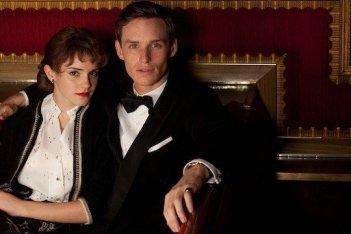Emma Watson ed Eddie Redmayne in My Week With Marilyn