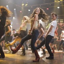 Footloose (2011) Kenny Wormald e Julianne Hough in una scena