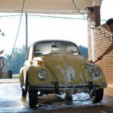 Footloose (2011) Kenny Wormald e Miles Teller lavano un'automobile
