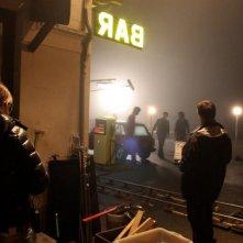 I primi della lista: un'immagine dal set di notte